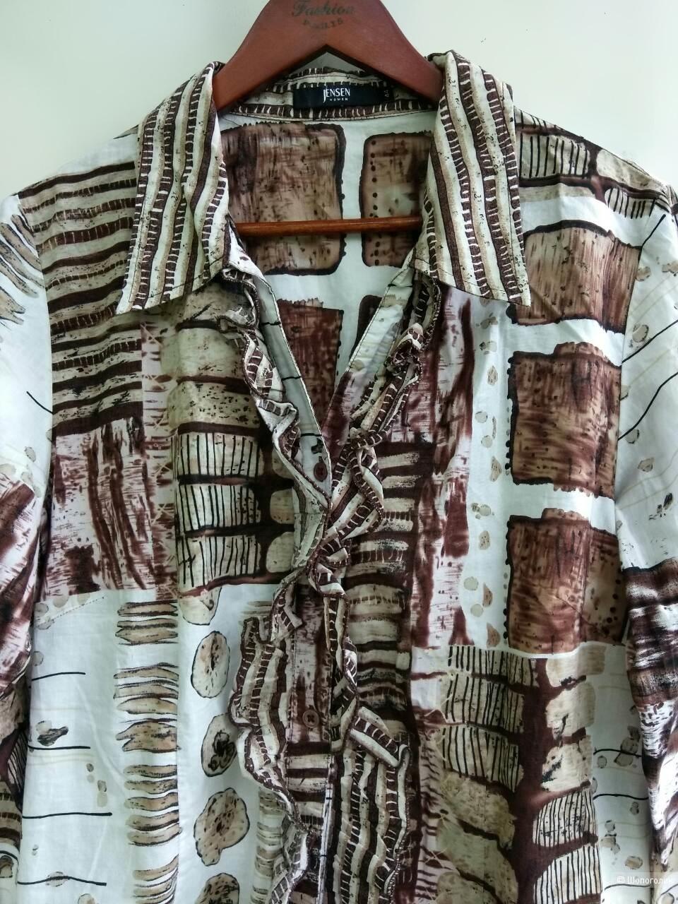 Рубашка Jensen woman 50-52 размер