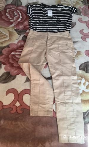 Комлект ,брюки и футболка Zara, размер М/L