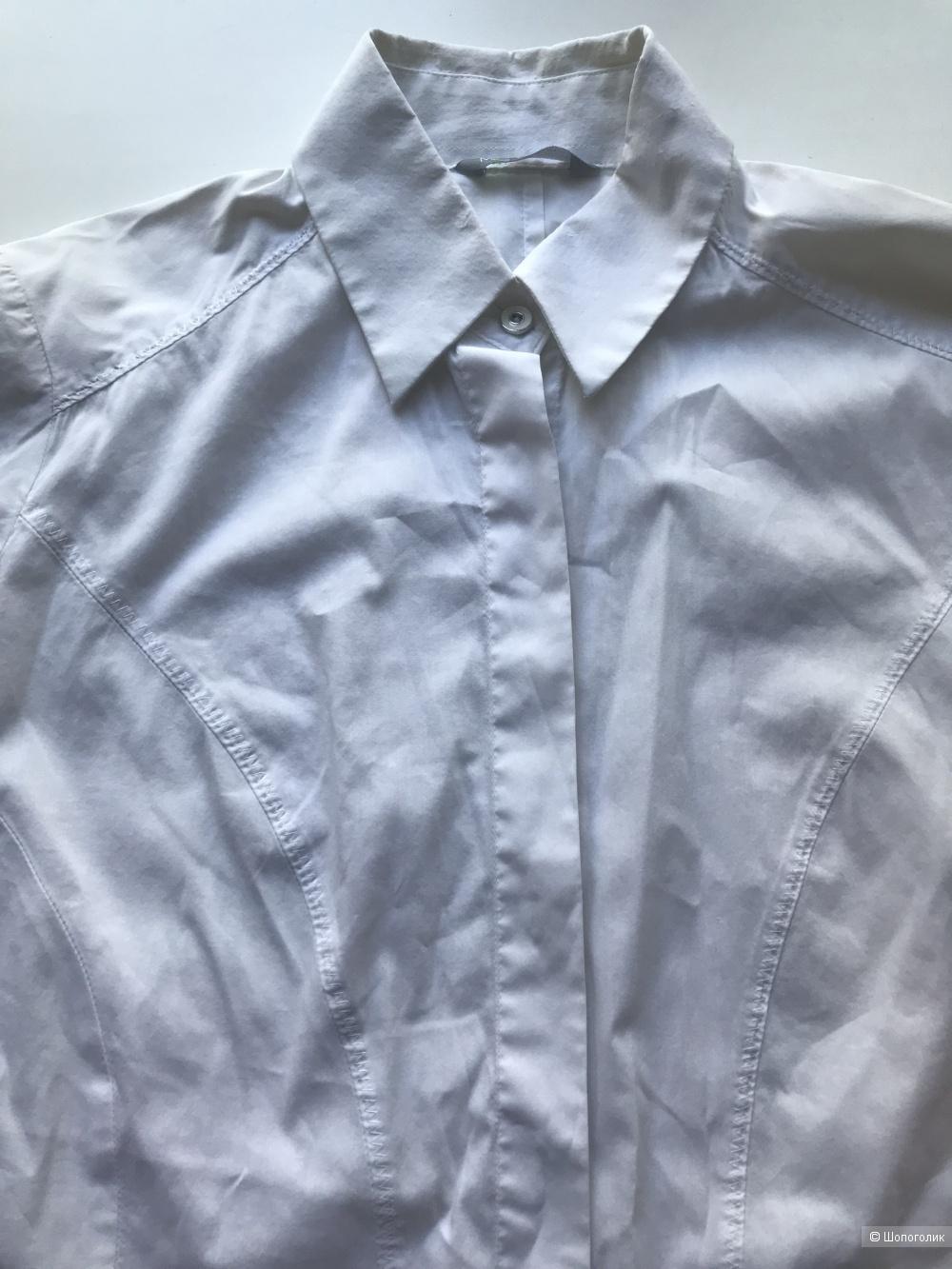 Сетом рубашка Marks & Spencer и корсет InWear,42-44 рус