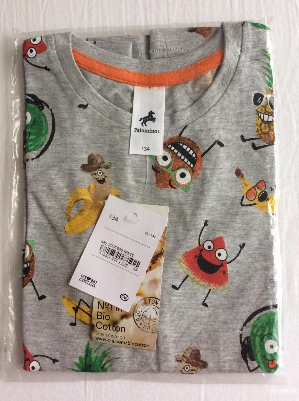 Сет из 3 футболок для мальчика Palomino р.134