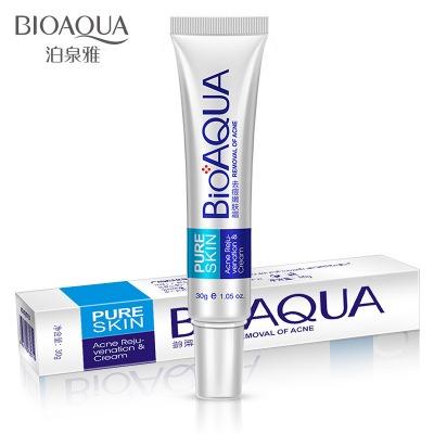 Крем для лица BIOAQUA Pure Skin Acne Rejuvenation & Cream анти-акне, от прыщей и воспалений (30г)