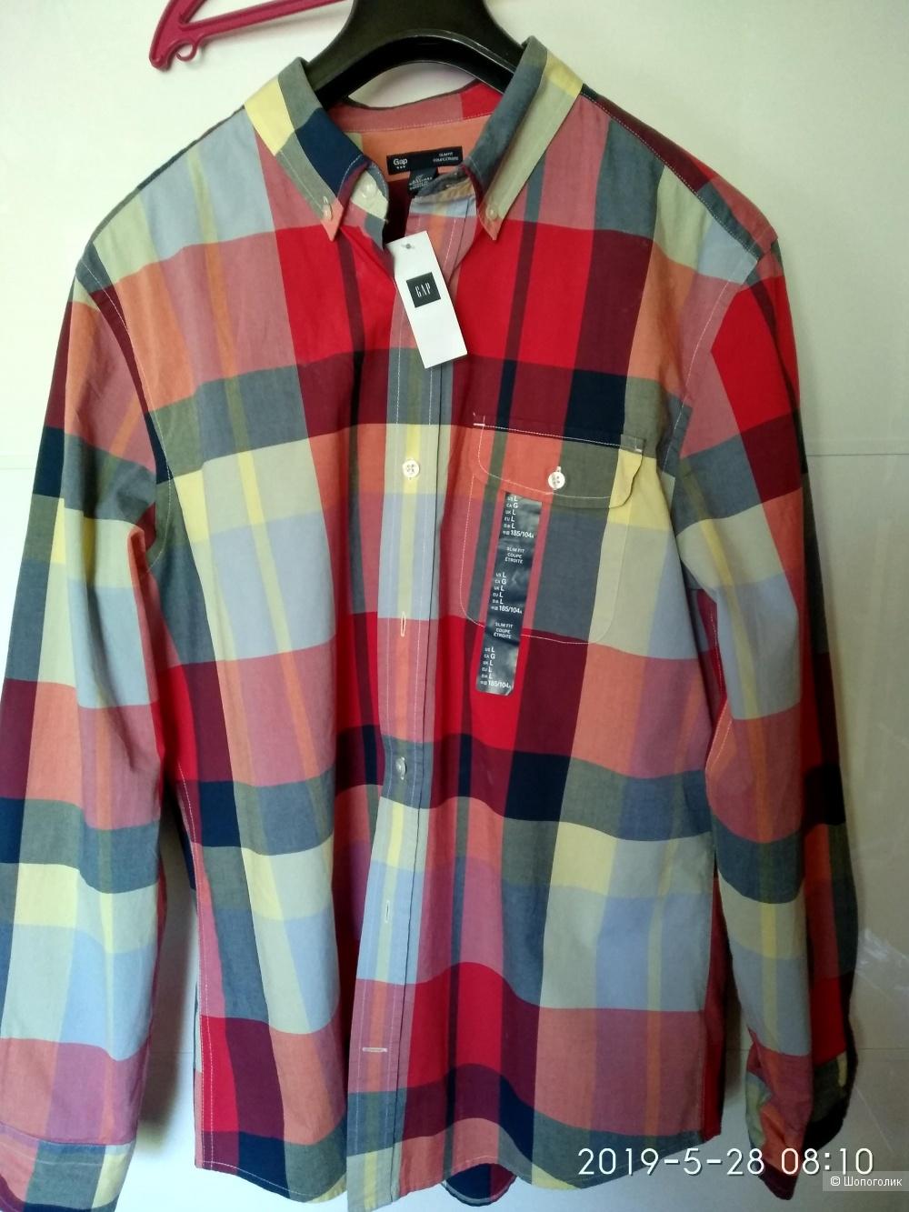 Рубашка Gap р.- L