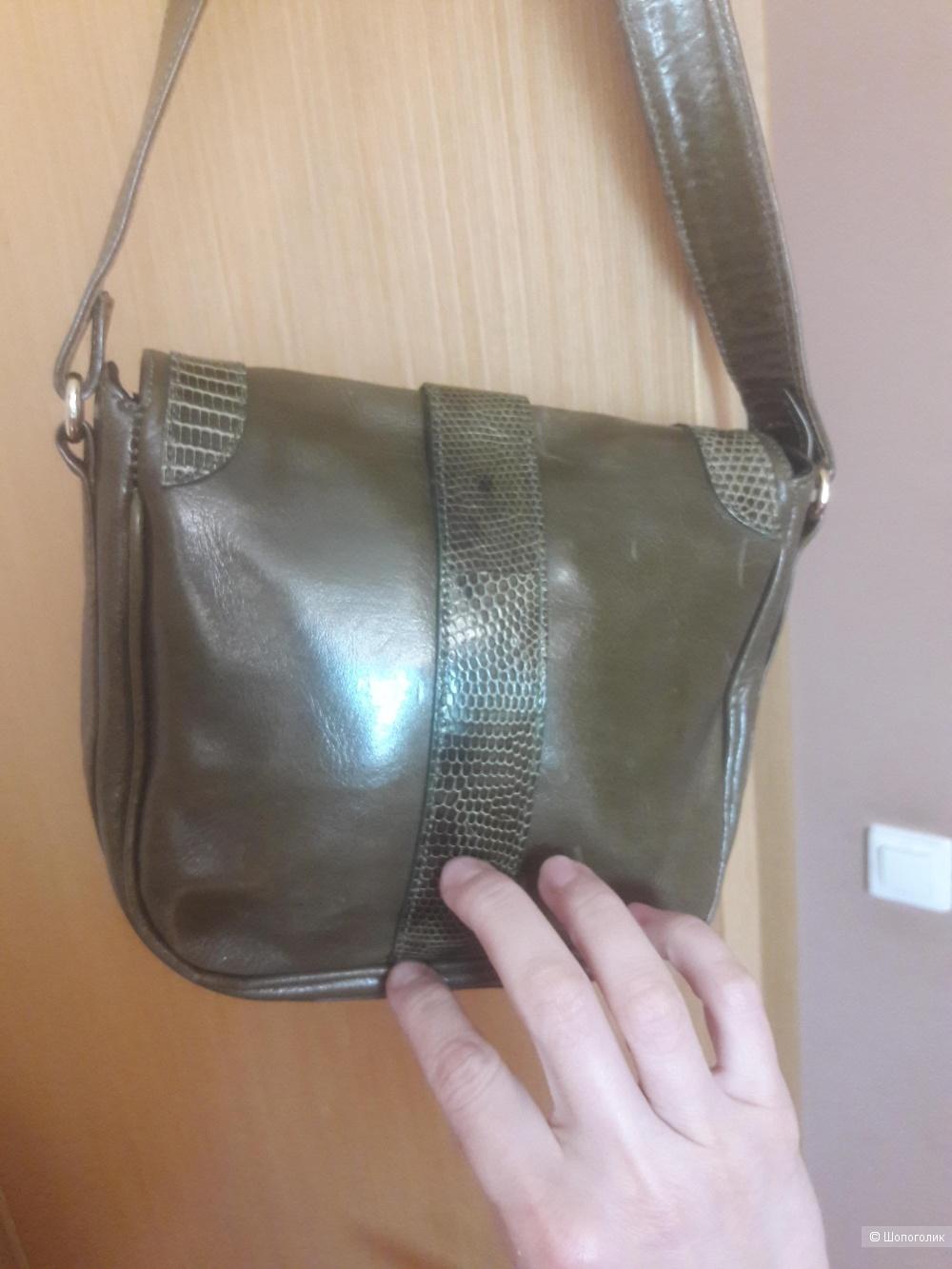 Кожаная сумка Kleinberg &Sherrill