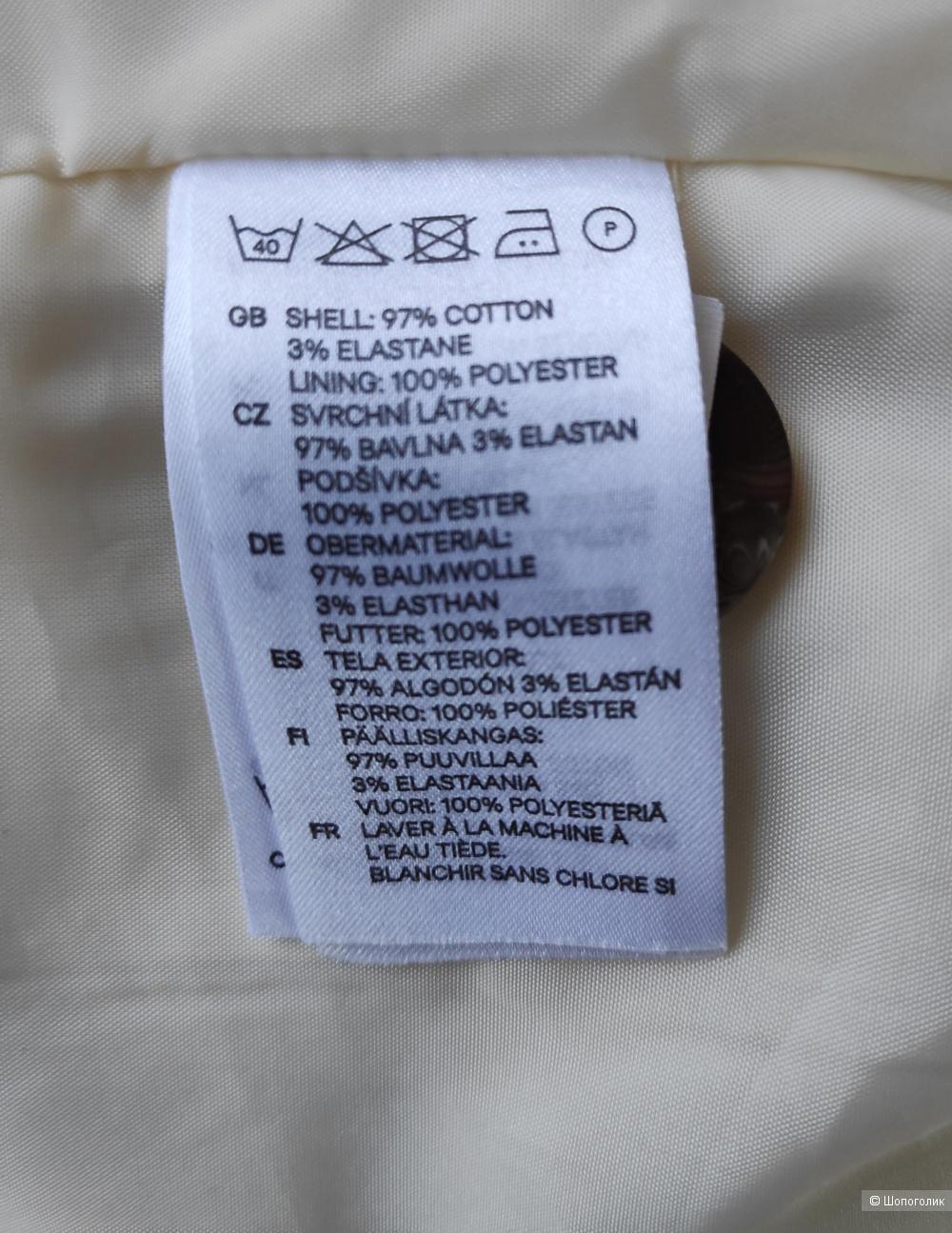 Пиджак H&M, размер EUR 38.