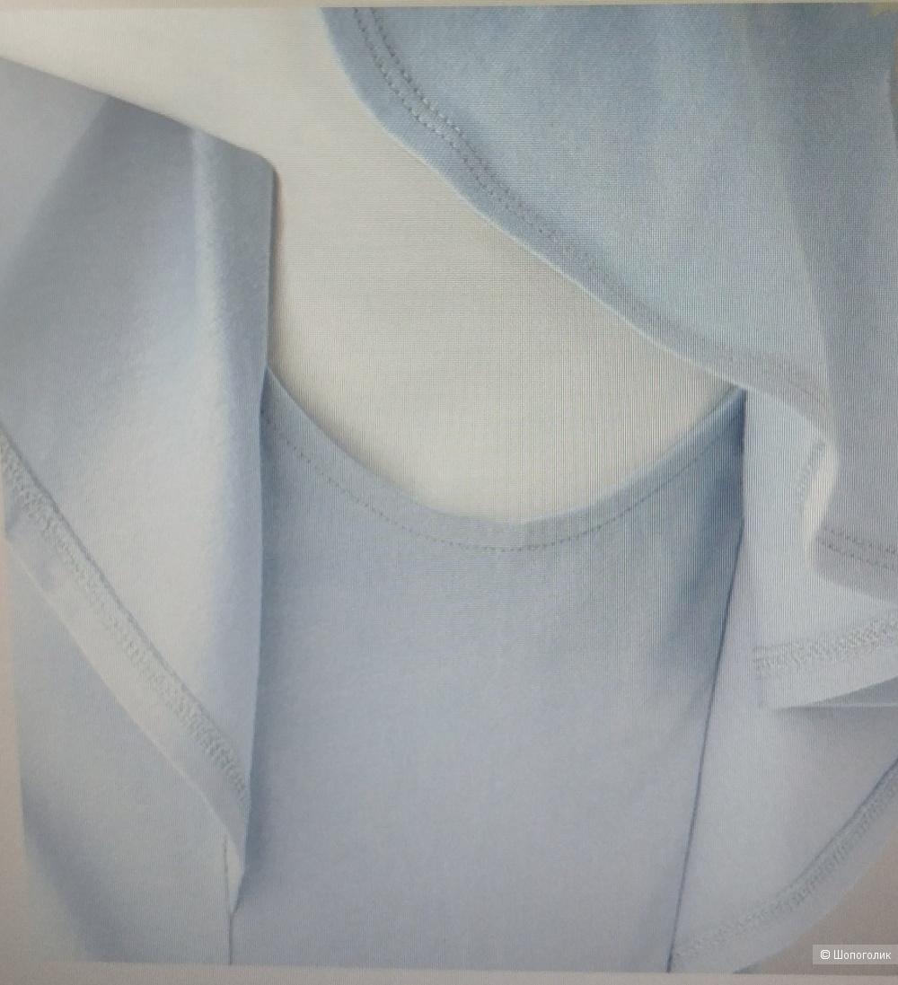 Блузка хлопок-вискоза Uniqlo, M