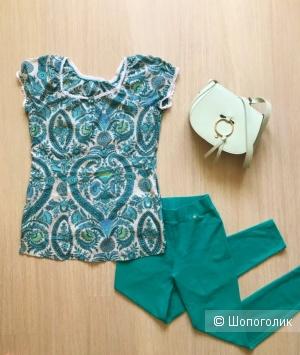 Сет блуза+джегинсы 44р.