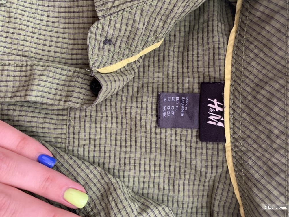 Комплект НМ джинсы и рубашка . Рост 158