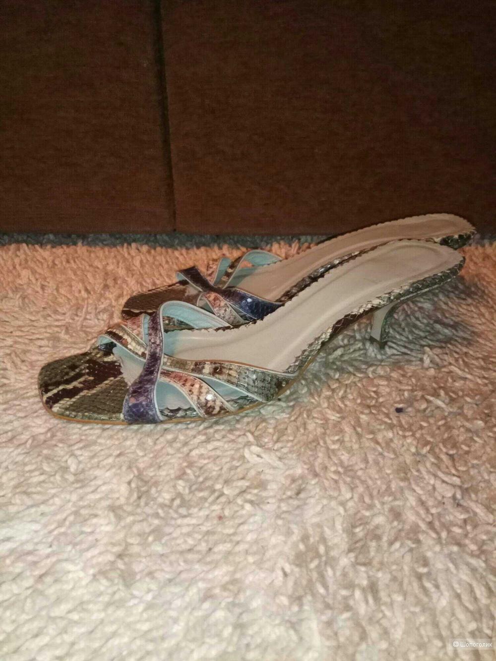 Мюли босоножки Zara 36/37 размер