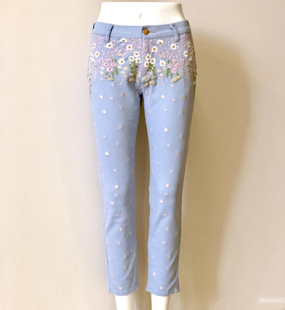 Укороченные джинсы MANOUSH, размер XS-S