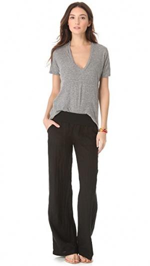 Льняные брюки Mac, 46 размер