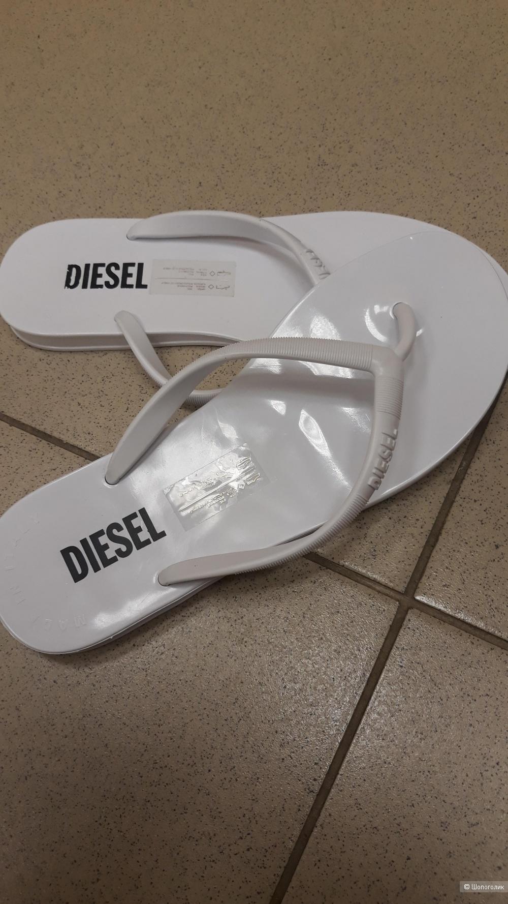Шлепки diesel,размер 38