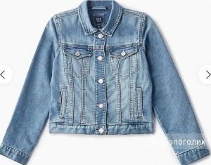 Куртка джинсовая GAP Kids  размер XS ( 98/110 RUS)
