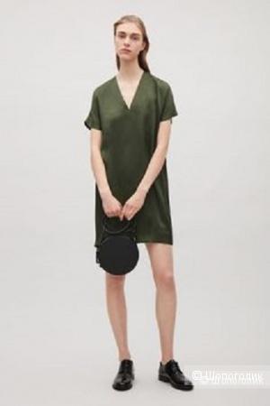 Платье-туника COS шелк, на 44
