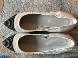 Vic туфли- балетки 41 (маломерки на ногу 25-25,5 см)