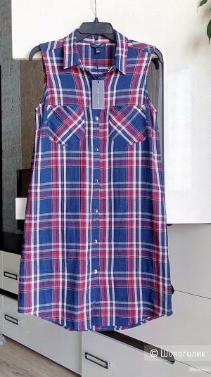 Платье - рубашка Tommy Hilfiger, размер 8