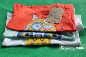 Комплект футболок Soobe 68-74 см