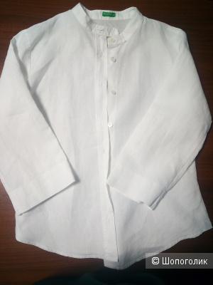 Рубашка льняная 44Ru