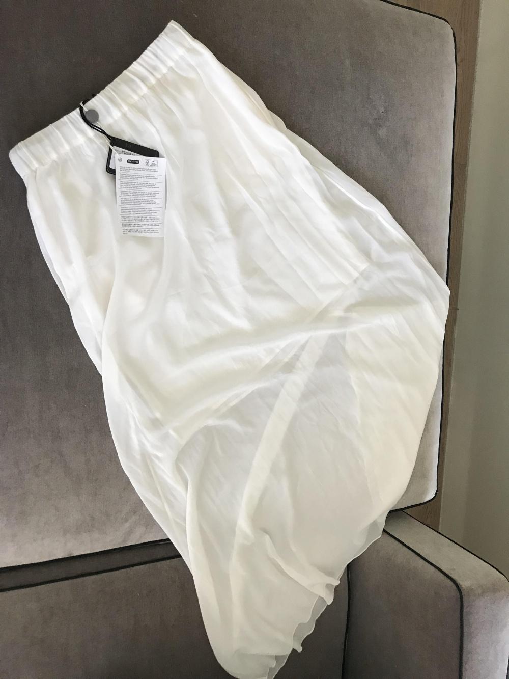 Шелковая юбка макси Fabiana Filippi 38IT (40-42 рус)