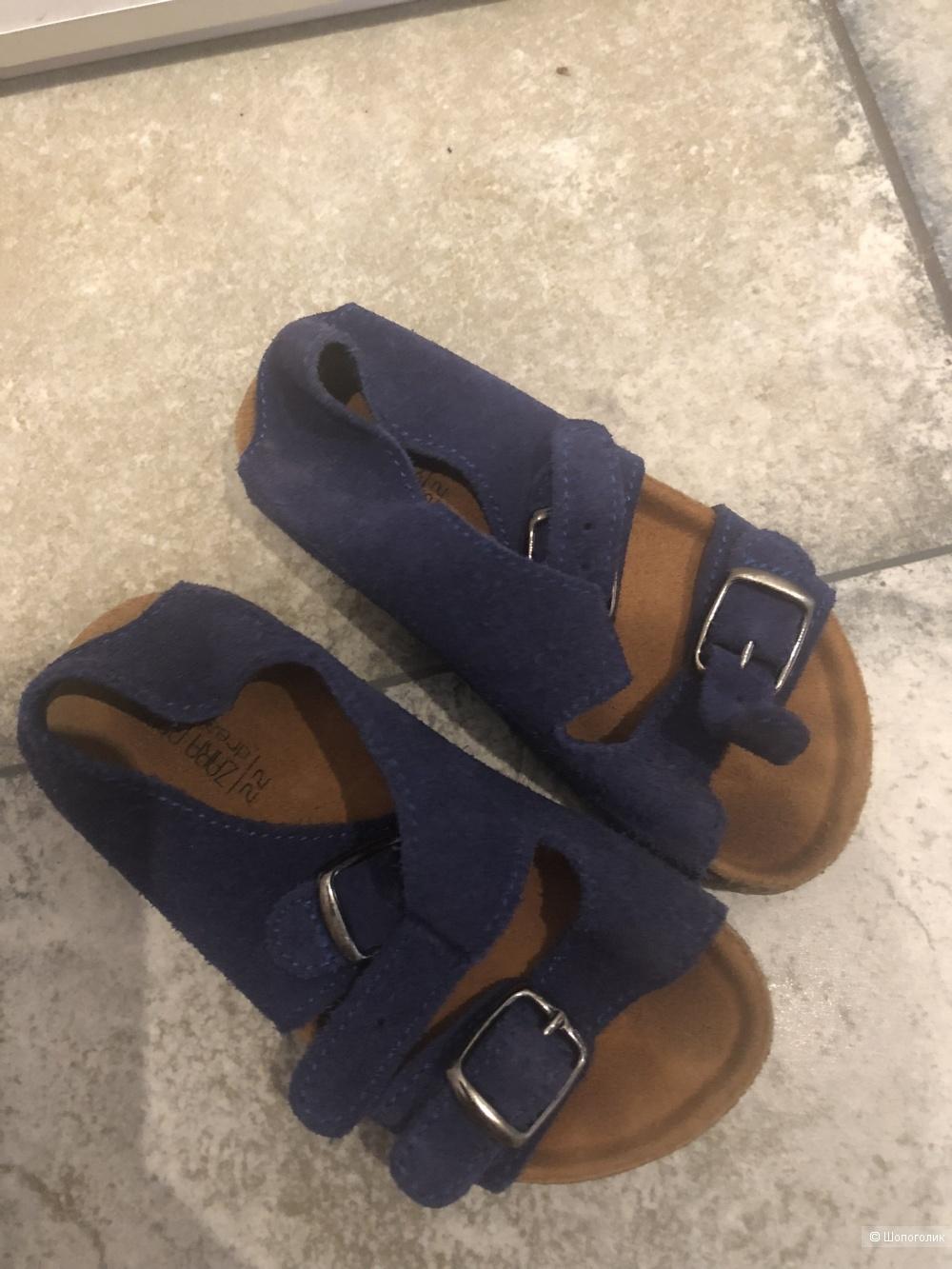 Детские сандалии zara 22 размер