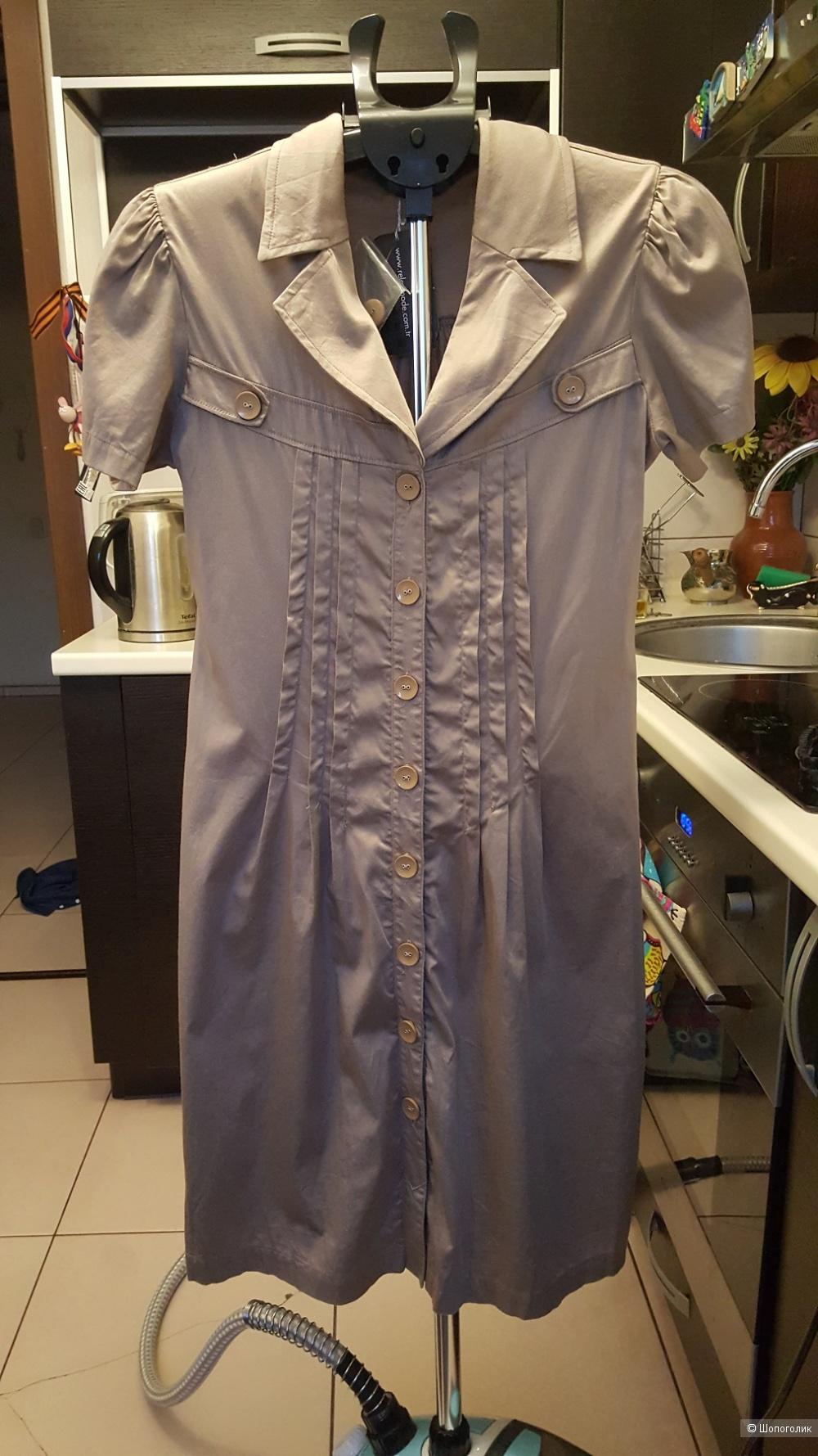 Платье-сафари Relax Mode. Турция. Размер 44
