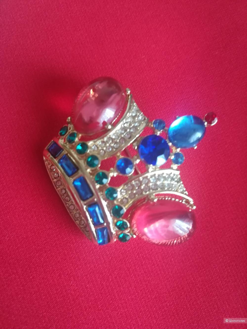 Брошь «Корона» Trifari