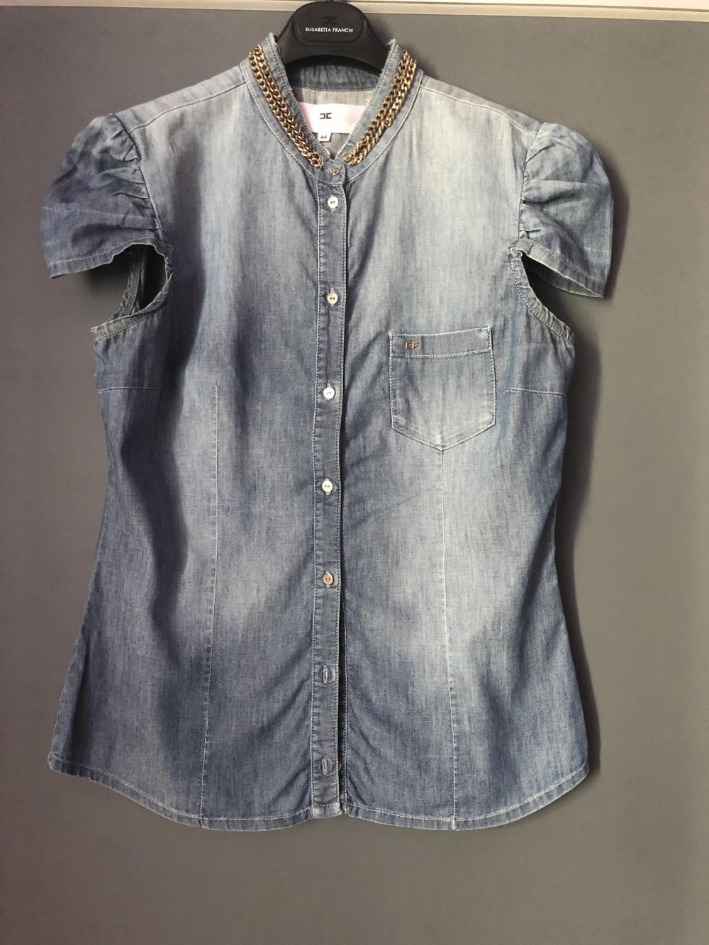 Джинсовая рубашка Elisabetta Franchi, p.44