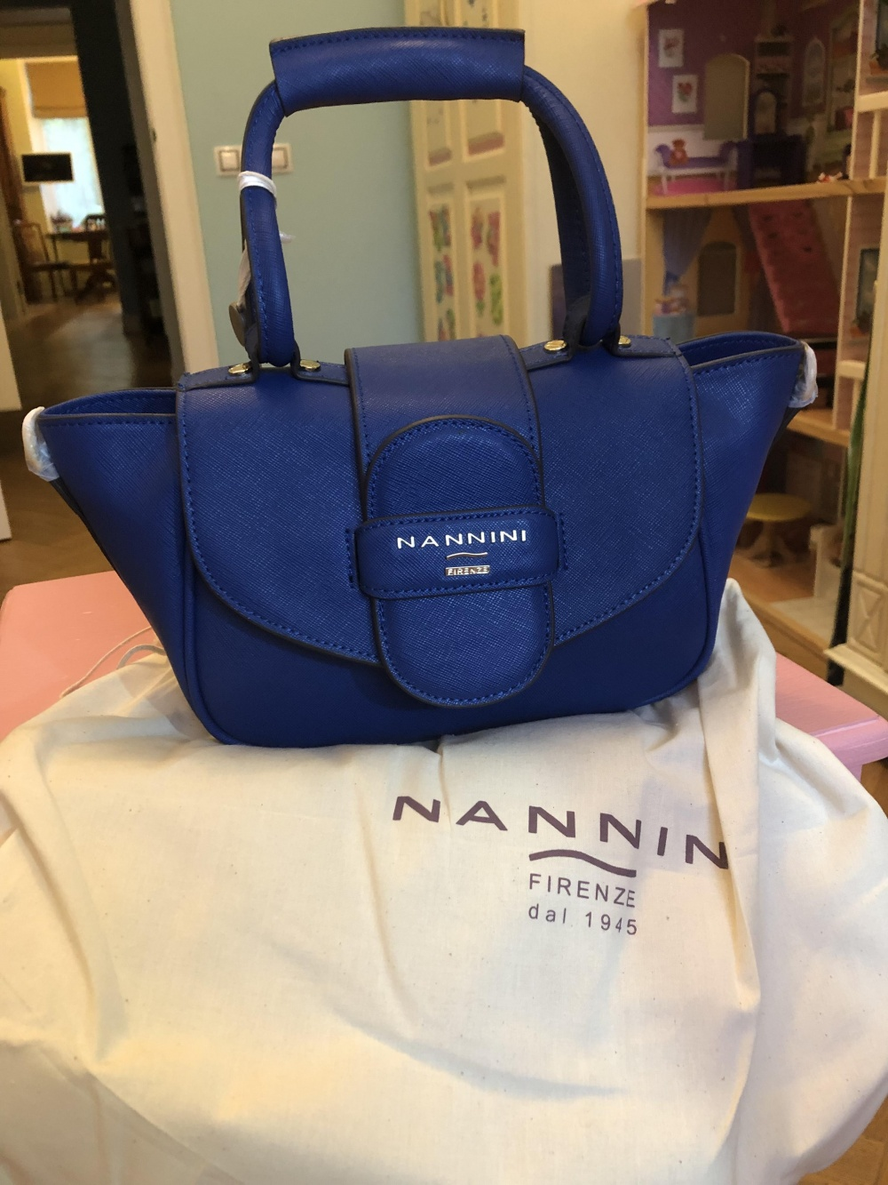 Новая сумка nannini кожа