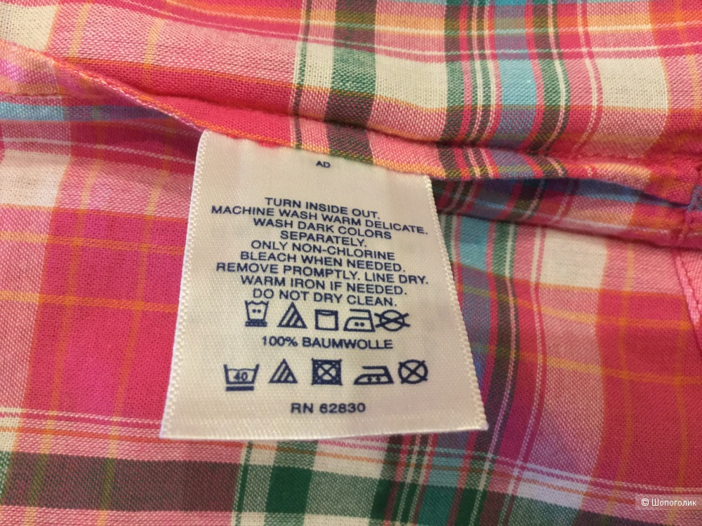 Блузка-рубашка Lands'end, р. XS (44 RUS)