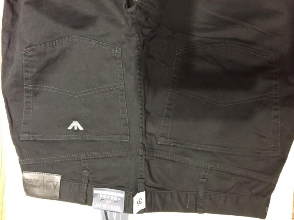 ARMANI мужские хлопковые джинсы 36-34
