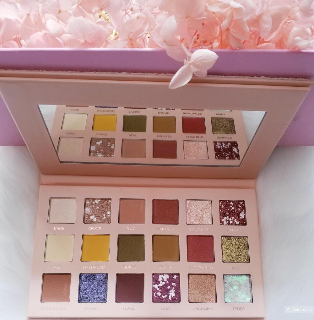 18 цветов Блеск мерцающие матовые тени для век