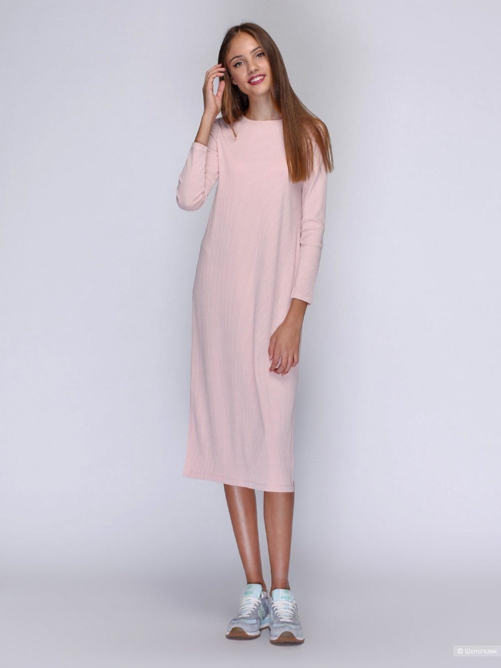 Платье-баллон made in italy, размер 46
