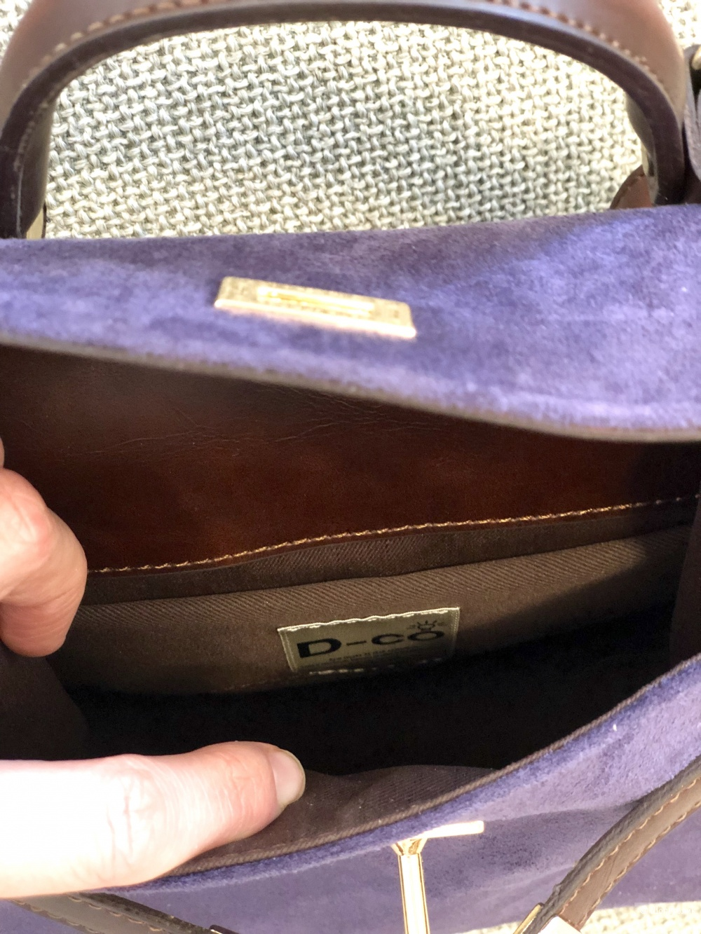 Кожаная сумка StyleTrack