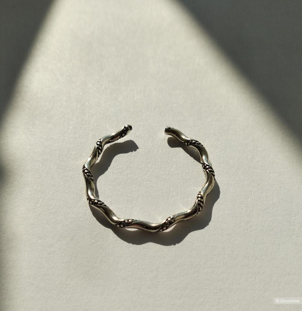 Кольцо, серебро 925, на любой размер