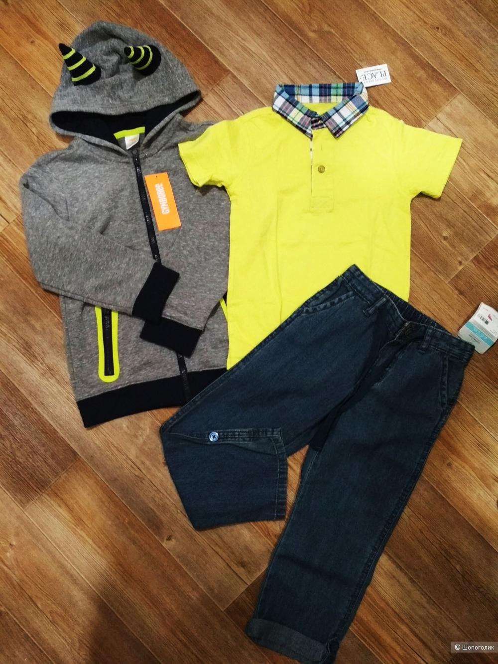 Сет джинсы carters футболка childrensplace толстовка gymboree размер 5 лет