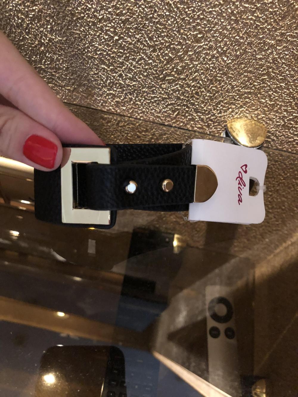 Кожаный браслет Diva