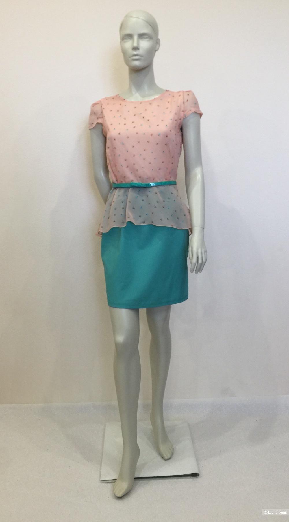 Платье БрендTOPSANDTOPS размер  44 российский 38 европейский