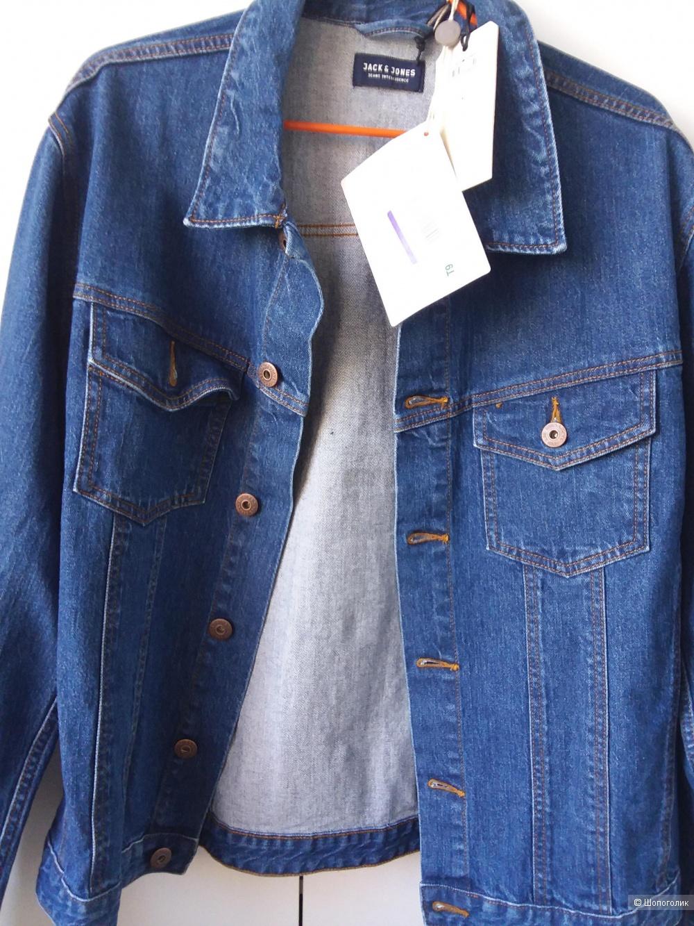 Джинсовая куртка JACK & JONES размер ХЛ