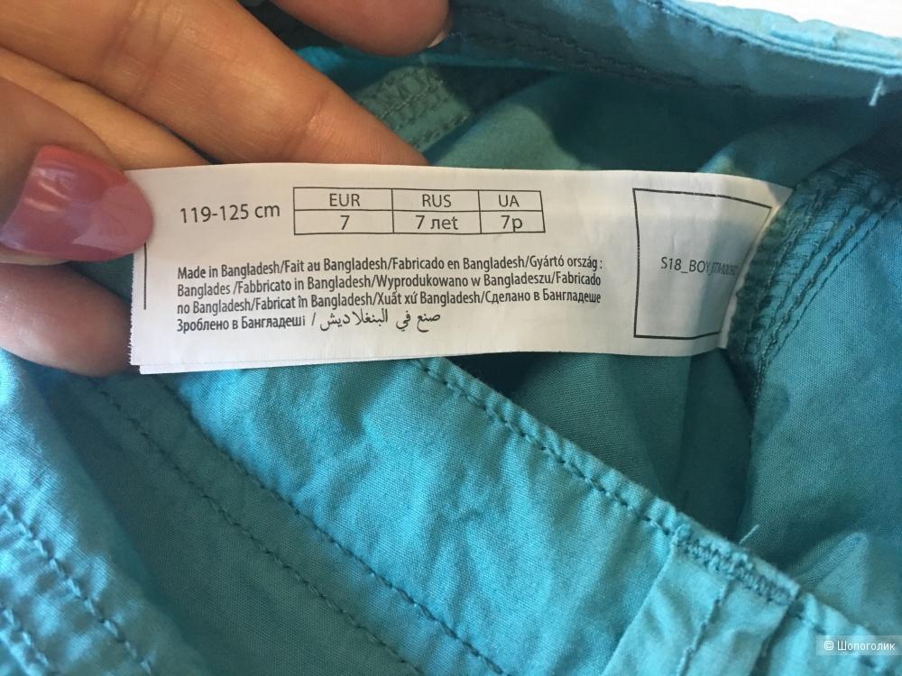 Детские шорты на мальчика, размер 7, большемерят.