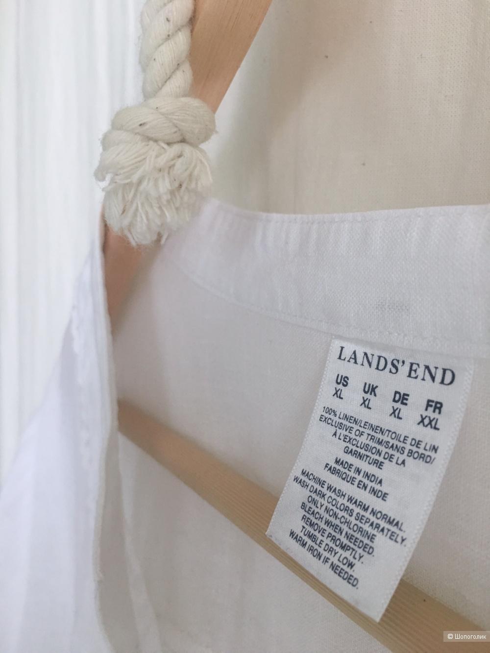 Рубашка Lands ' End. Размер XL.