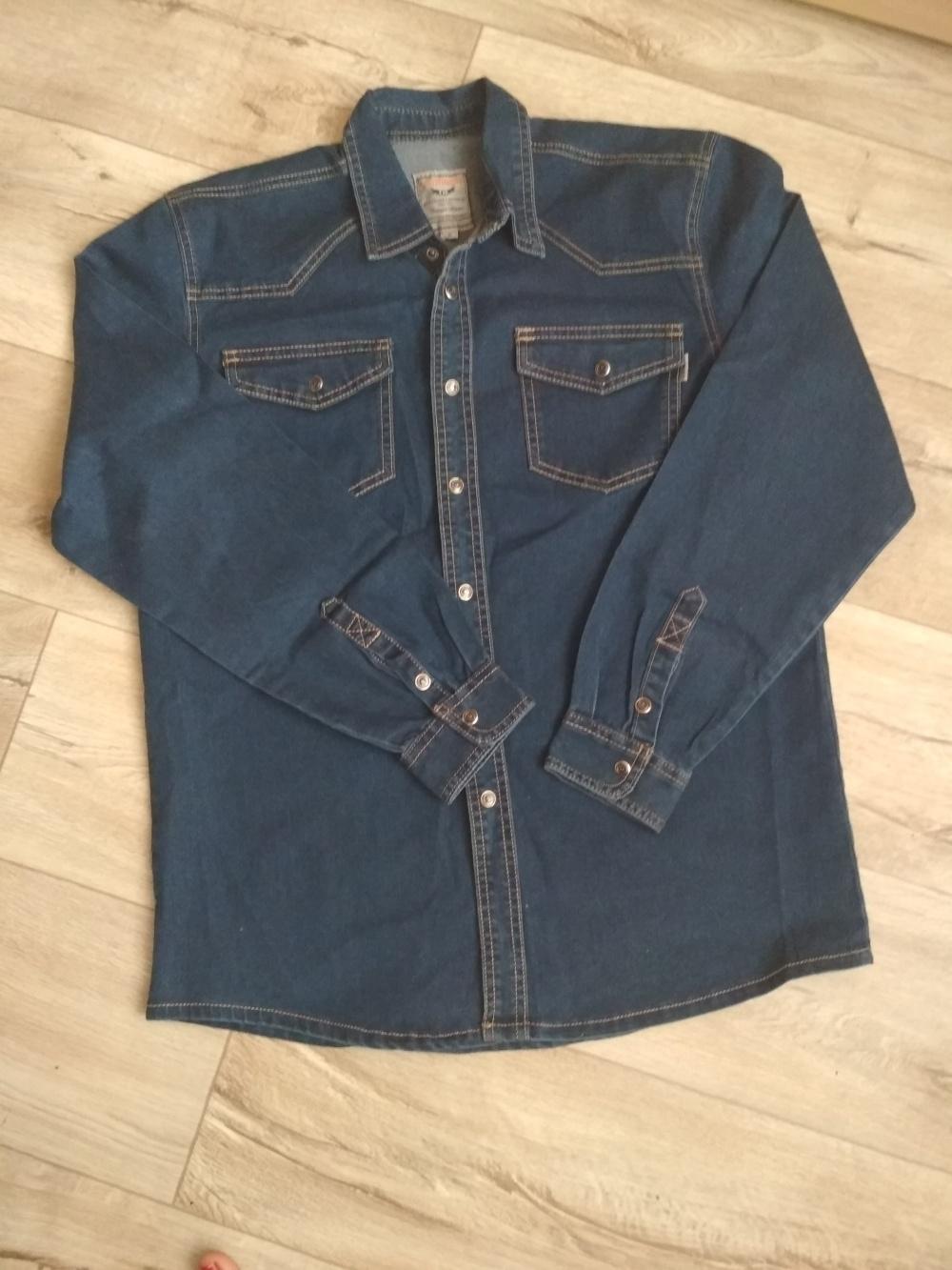 Джинсовая рубашка corinoo xl