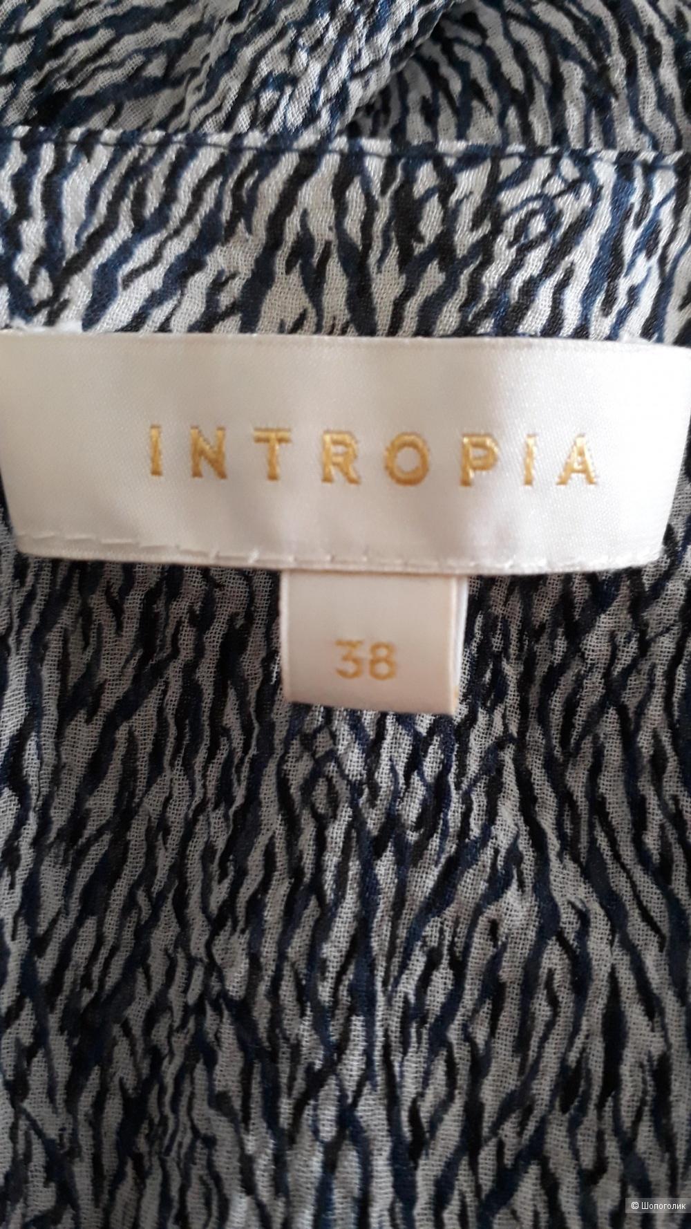 Блузка Intropia 42 it (44, 46 рус)