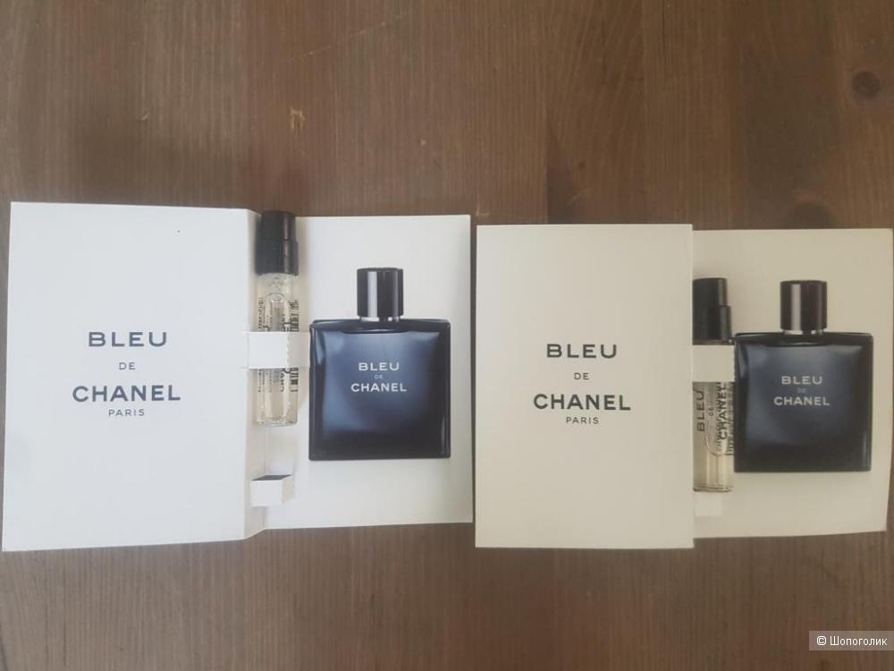 Набор фирменных пробников мужских парфюмов Chanel, Dolche & Gavana, Azzaro