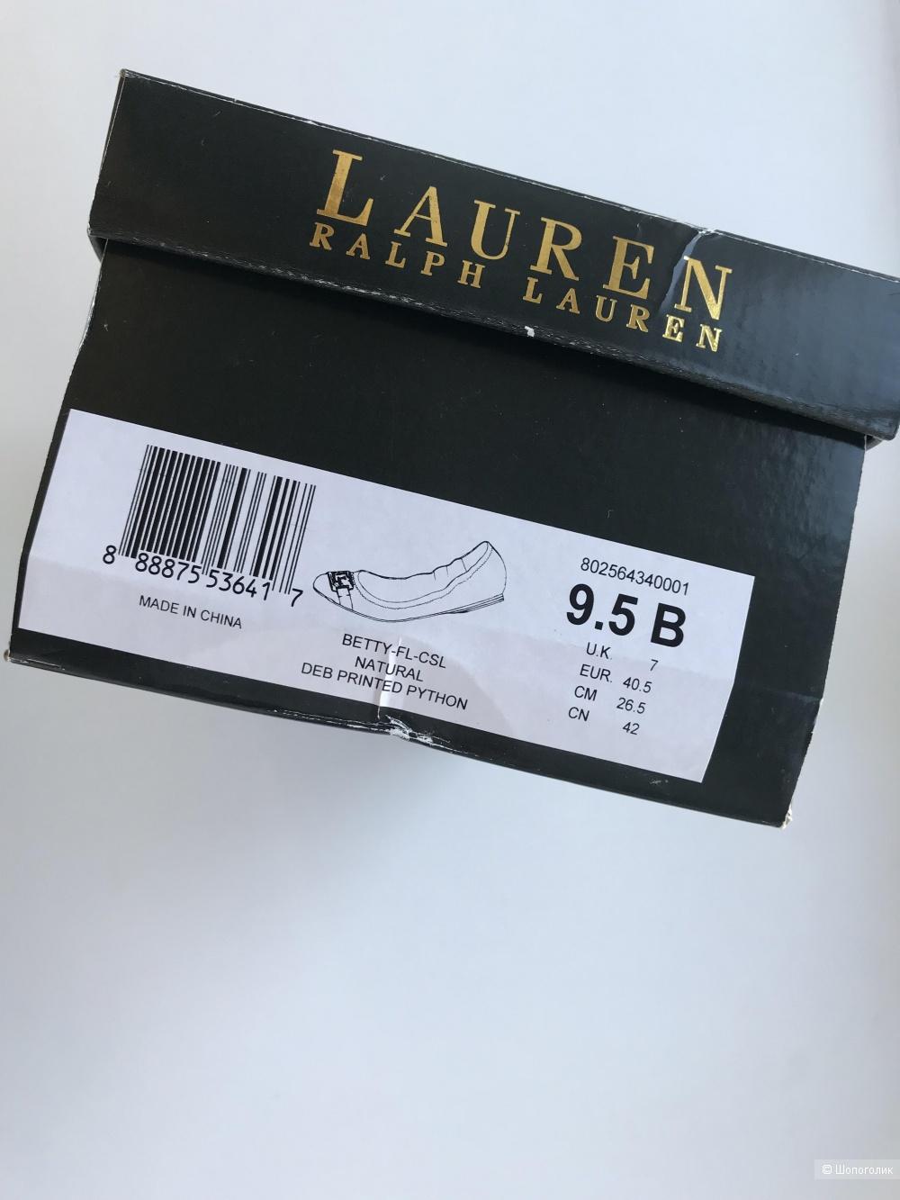 Балетки  Ralph Lauren, размер US 9,5