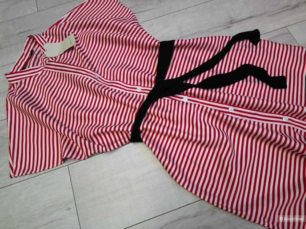 Платье- рубашка ZARA, размер M-L