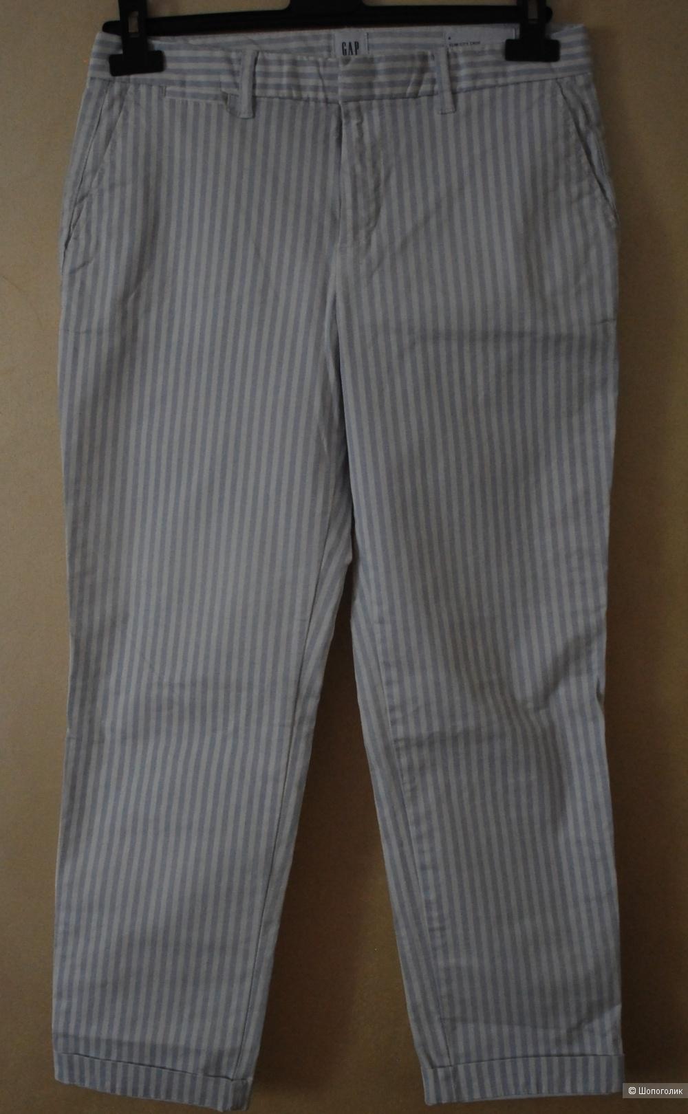 Новые брюки GAP slim city американский размер 4