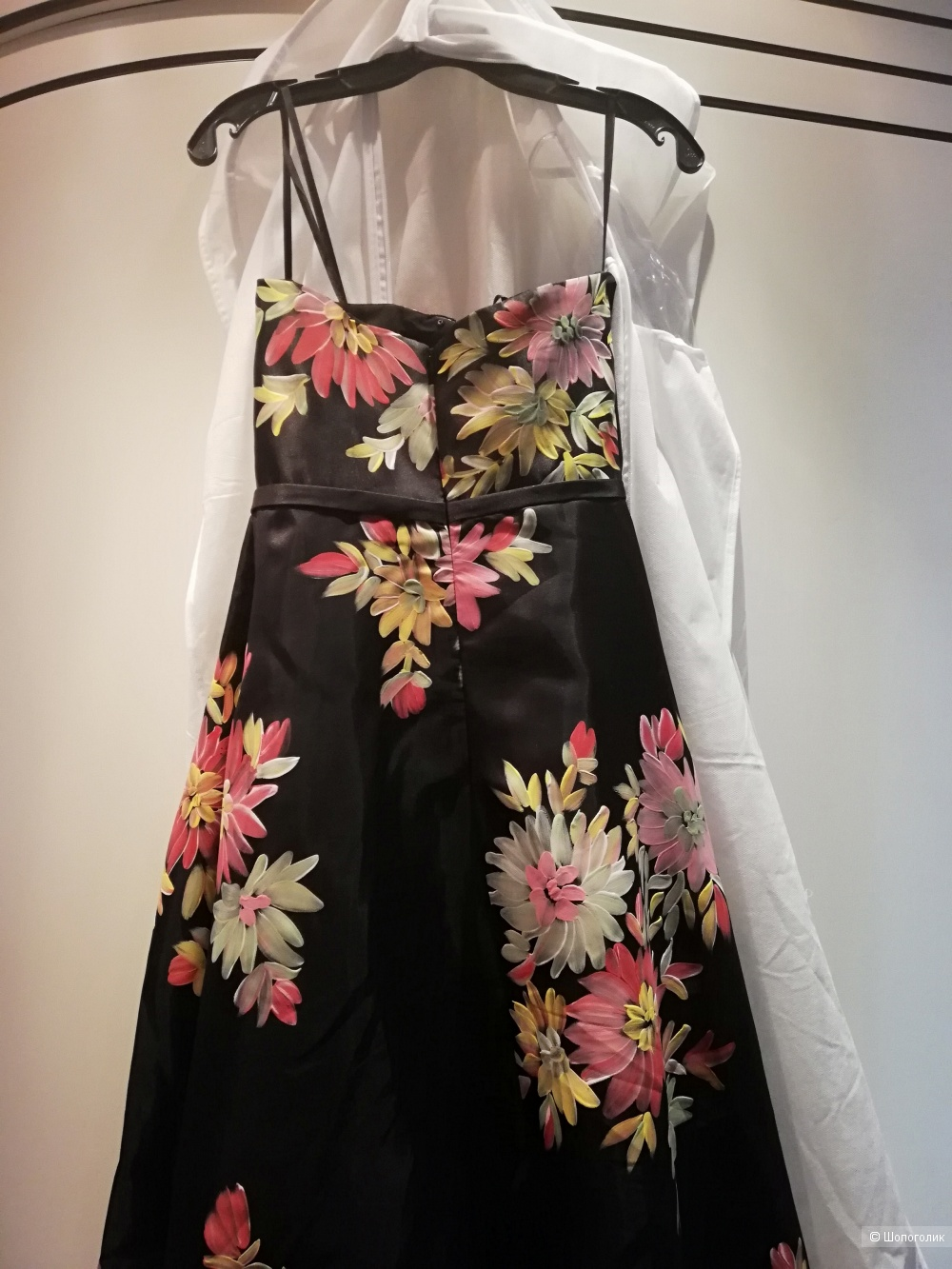 Вечернее платье basix black label, размер 46