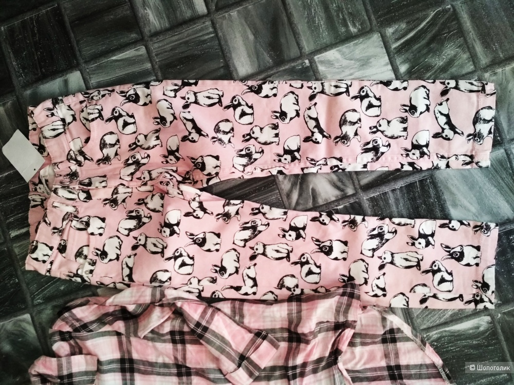 Сет джинсы hm рубашка pepco размер 6-7 лет