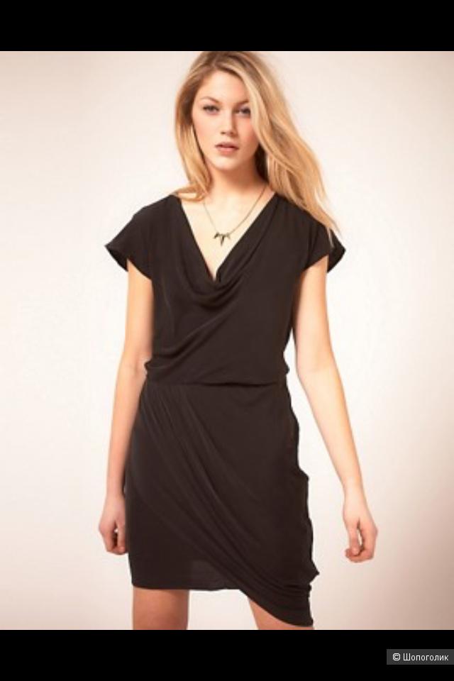 Шелковое платье Vero Moda размер 12 UK