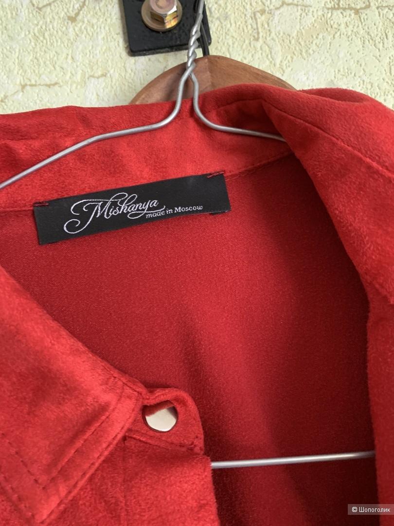 Платье рубашка Brand Mishanya размер 42-44-46