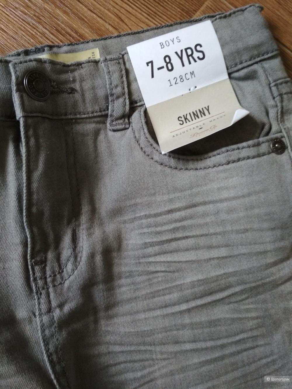 Сет джинсы denim Co рубашка crazy8 лонгслив primark 7-8 лет